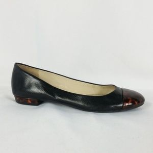 Naturalizer 7M Black Flat Tortoise Shell S16-16
